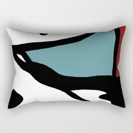 Abstract Painting Design - 1 Rectangular Pillow