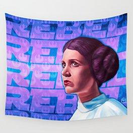 Rebel Princess Wall Tapestry