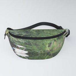 Green Mirror: Stillness of Summer Fanny Pack