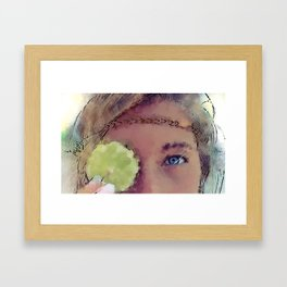 Sweet and Sour Framed Art Print