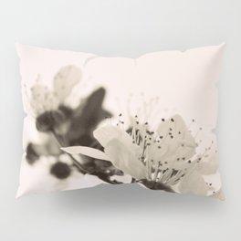 Blossoms Monochrome Pillow Sham