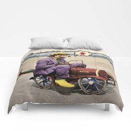 Barkin' Down the Highway! Comforters