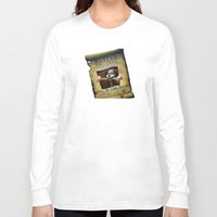 monkey island Long Sleeve T-shirts featuring Monkey Island - WANTED! Spiffy, the Scumm Bar dog by Sberla