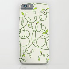 Green is in Bloom Slim Case iPhone 6s