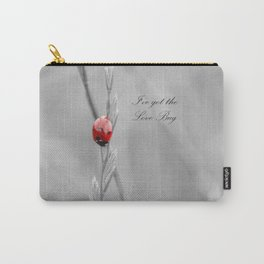 black and white lady bug Carry-All Pouch