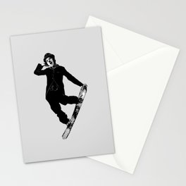 Gnarly Chaplin Stationery Cards