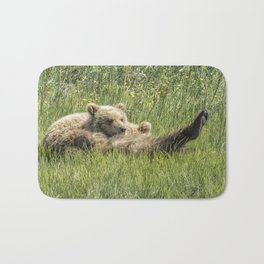 My Foot's So Pretty, Oh So Pretty - Bear Cubs, No. 2 Bath Mat