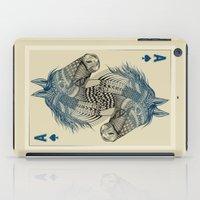 ace iPad Cases featuring American Pharoah (Ace) by Rachel Caldwell