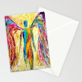 """Angel of Color"" Stationery Cards"