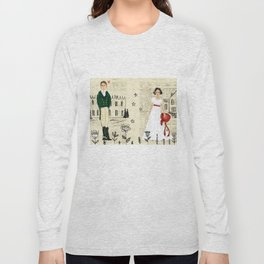 Mr.Darcy of Pemberley and Miss Bennet of Longbourn Long Sleeve T-shirt