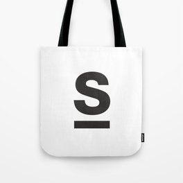 Letter and Line Tote Bag