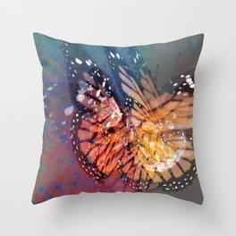 Flutter by Butterfly Throw Pillow
