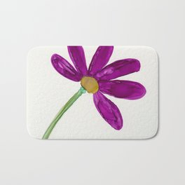 Purple Daisy Bath Mat