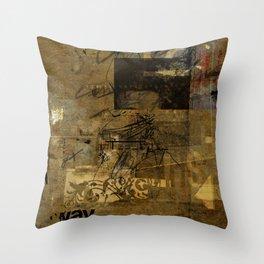 sedimenti 68 Throw Pillow
