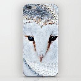Barn Owl Portrait (Tyto Alba) iPhone Skin