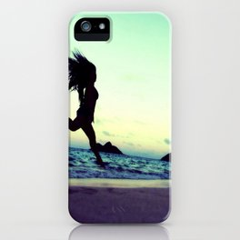 Dancing with the Wind 2 iPhone Case
