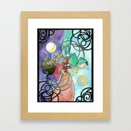 The Lovers/The Fools. Framed Art Print