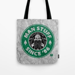 Man Stuff Tote Bag