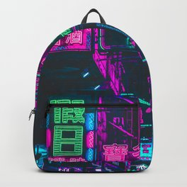 Hong Kong Neon Aesthetic Backpack