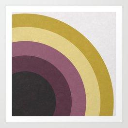 Five Circles Art Print