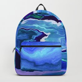 Dreamy Fluid Abstract Painting Backpack