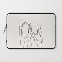 Best Friends For Ever Laptop Sleeve