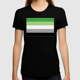 Aromantic Flag T-shirt