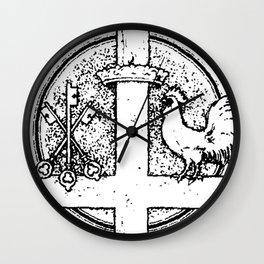 St. Peter Symbol - white bkg Wall Clock