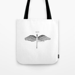 Match Made in Heaven Pun Tote Bag