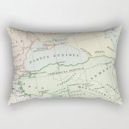 Old Map of The Roman Empire Rectangular Pillow