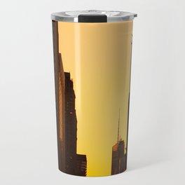 Manhattanhenge along 42nd Street NYC Travel Mug