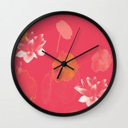 Lotus Dreams 3 Wall Clock