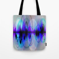 dj Tote Bags featuring DJ by Sonja Thams