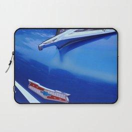 Blue Bel Air Hood Ornament Laptop Sleeve