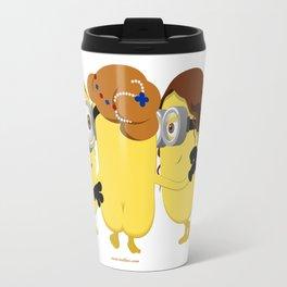 The Three Minion Graces Travel Mug