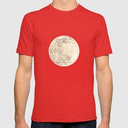 The Flower of Life Moon 2 T-shirt