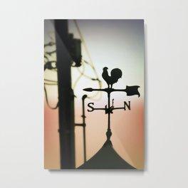 City Rooster Metal Print