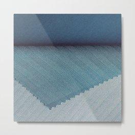 Blue cover Metal Print
