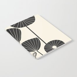 Abstract Flowers Notebook