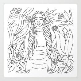 KA'IULANI Art Print