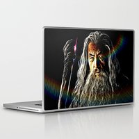gandalf Laptop & iPad Skins featuring Gandalf by D77 The DigArtisT
