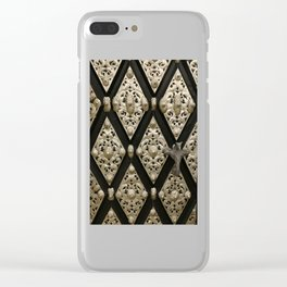 Old Door Ornament Clear iPhone Case