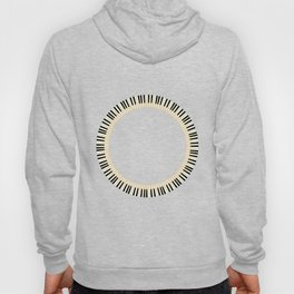 Pianom Keys Circle Hoody