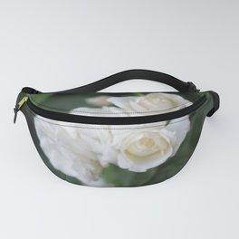 White Roses Fanny Pack