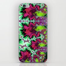 Life stream, fractal abstract art iPhone & iPod Skin