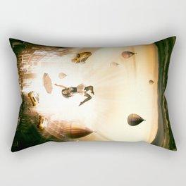 Falling from city Rectangular Pillow