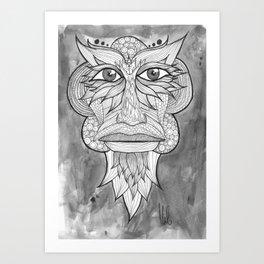 Tribal Zone Art Print