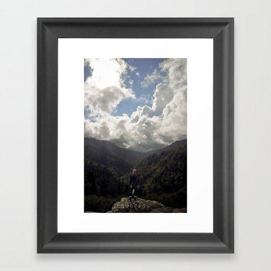 El mañana vendrá Framed Art Print