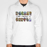 final fantasy Hoodies featuring Final Fantasy II Characters by Nerd Stuff
