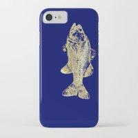 goldfish iPhone & iPod Cases featuring goldfish by EnglishRose23